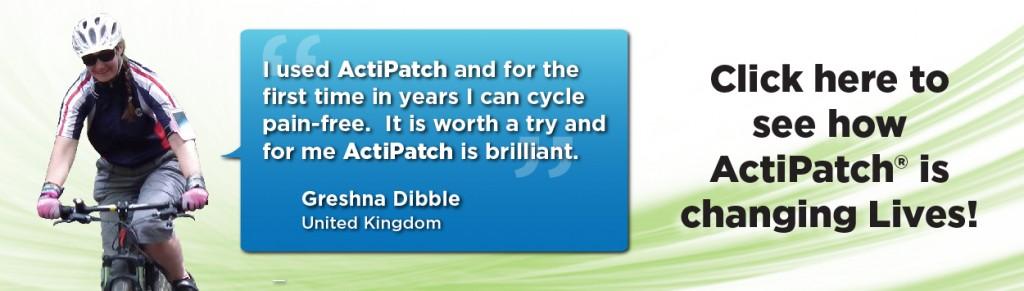 ActiPatch Testimonial Banner Greshna Dibble 12-5-14-01