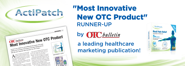 ActiPatch OTC Bulletin Award