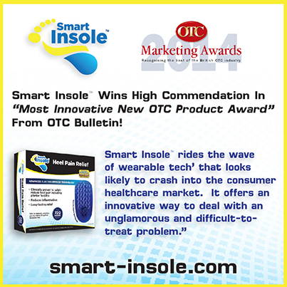 Smart Insole Heel Pain Relief OTC Awards